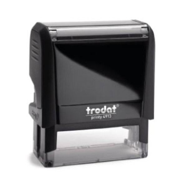 Trodat Printy 4913 (5 lines - 56x20mm) - Customized stamp