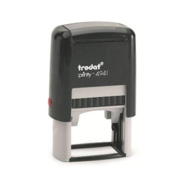 Tampon personnalisé Trodat Printy 4941 (41 x 24 mm) - 6 lignes