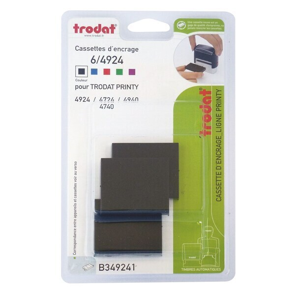 Trodat Printy ink cartridge 6/4924 x2