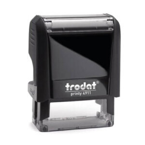 Trodat Printy 4911 (3 lines - 36x12mm) - Customized stamp