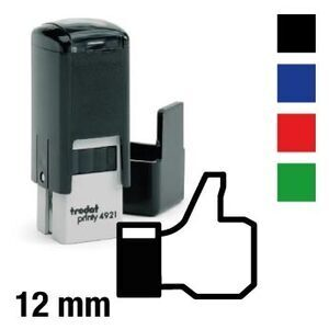 "Facebook stamp ""Like"""