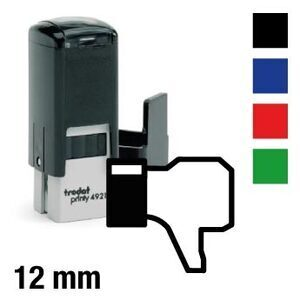 "Facebook stamp ""Dislike"""