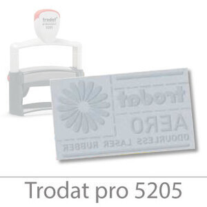 Trodat Professional 5205 text plate (66x22mm)