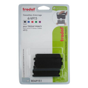 Trodat Printy ink cartridge 6/4915 x2