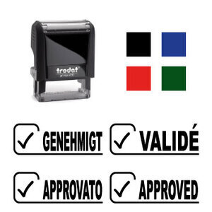 "X-print Trodat stamp ""APPROVED"""