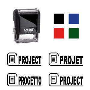 "X-print Trodat stamp ""PROJECT"""